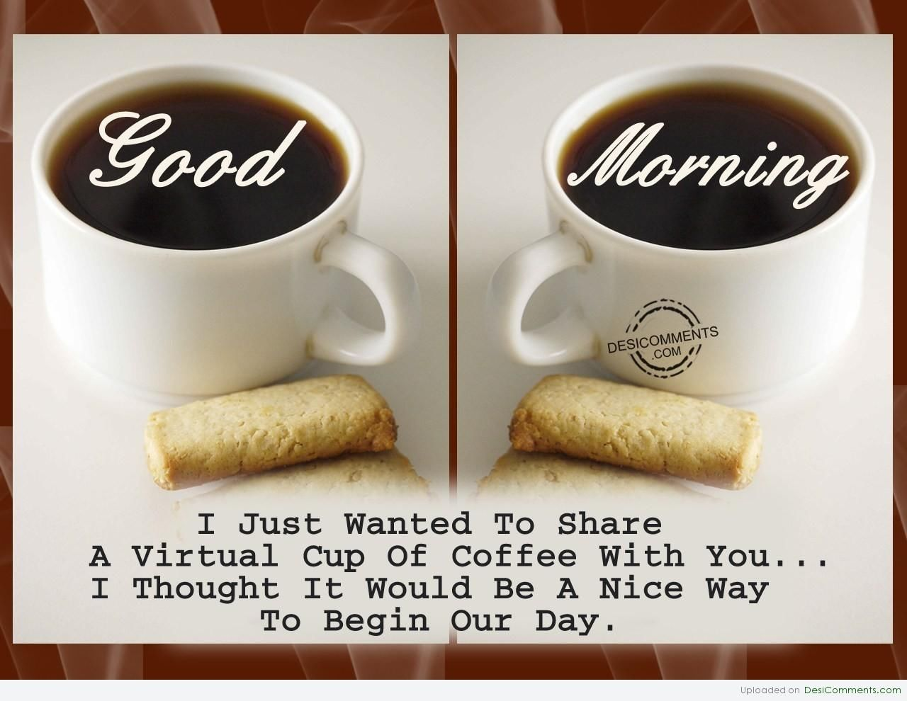 Good Morning Coffee Pictures, Photos, and Images for Facebook ... #goodMorningCoffee