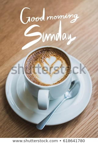 Free photos Good morning Sunday coffee cup background with vintage ... #sundayCoffee