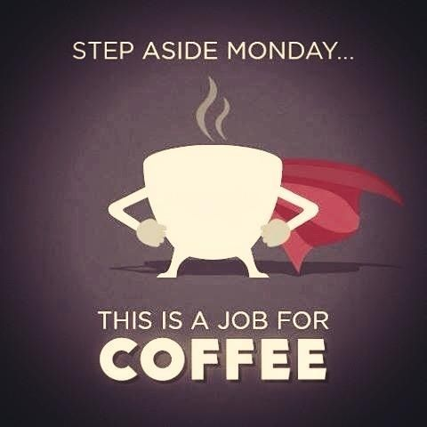 The remedy to Mondays … coffee of course! | The Gourmet Coffee Co. #mondayCoffee