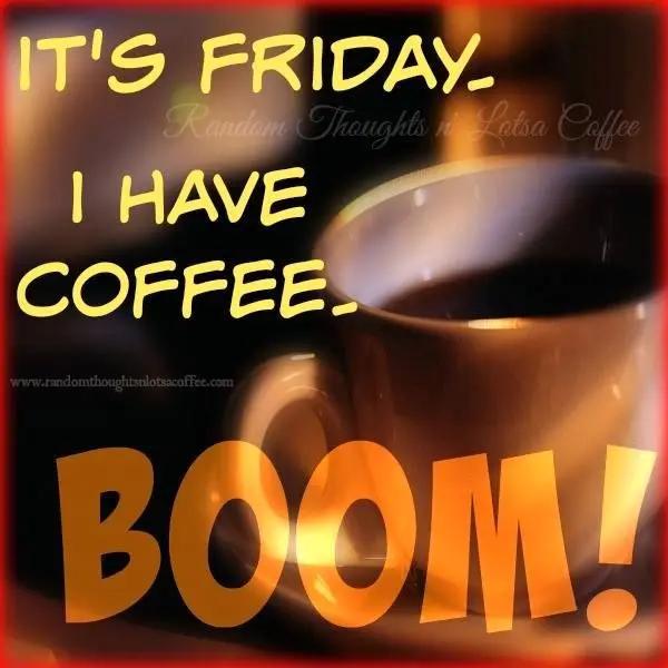 Friday 23-11-2018 - It's National Espresso Day - Do I Hear Coffee ... #coffeeFriday