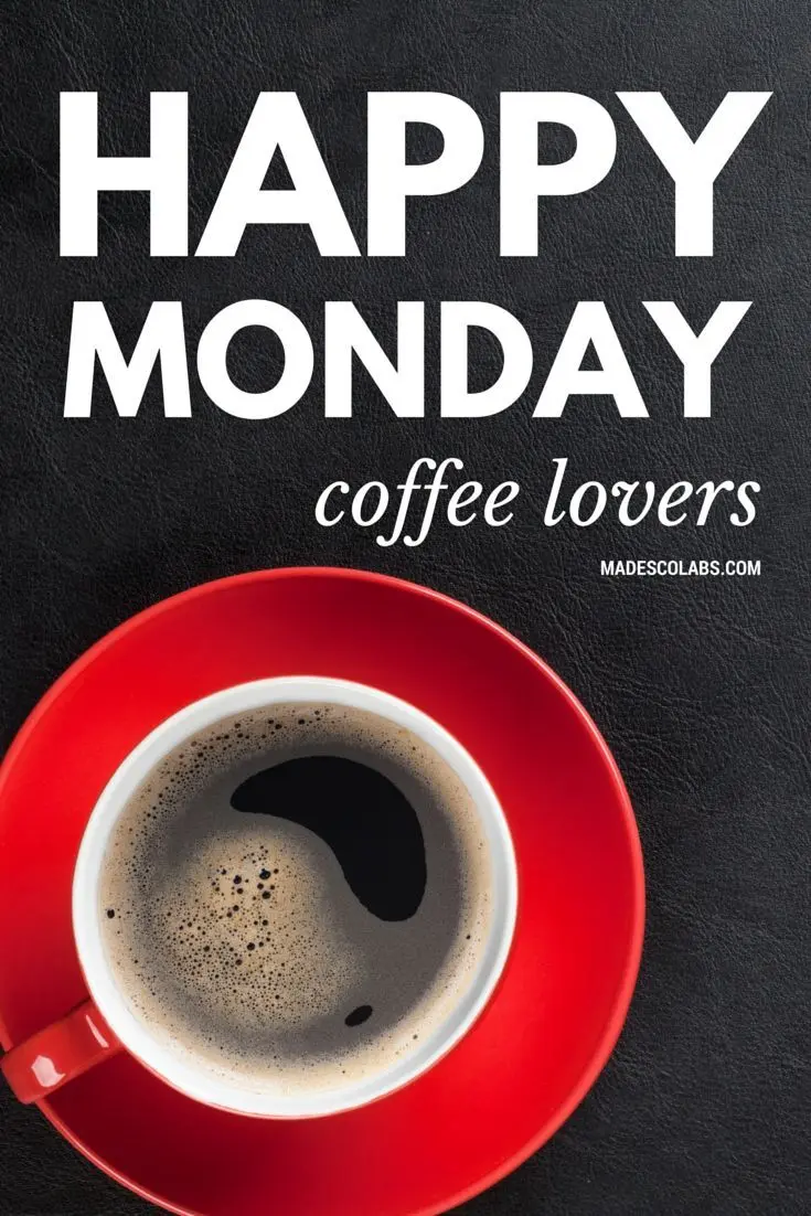 Happy Monday Coffee Lovers Pictures, Photos, and Images for ... #mondayCoffee