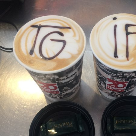 Thank God it's Friday coffee's - Picture of Aroma Cafe, Whyalla ... #coffeeFriday