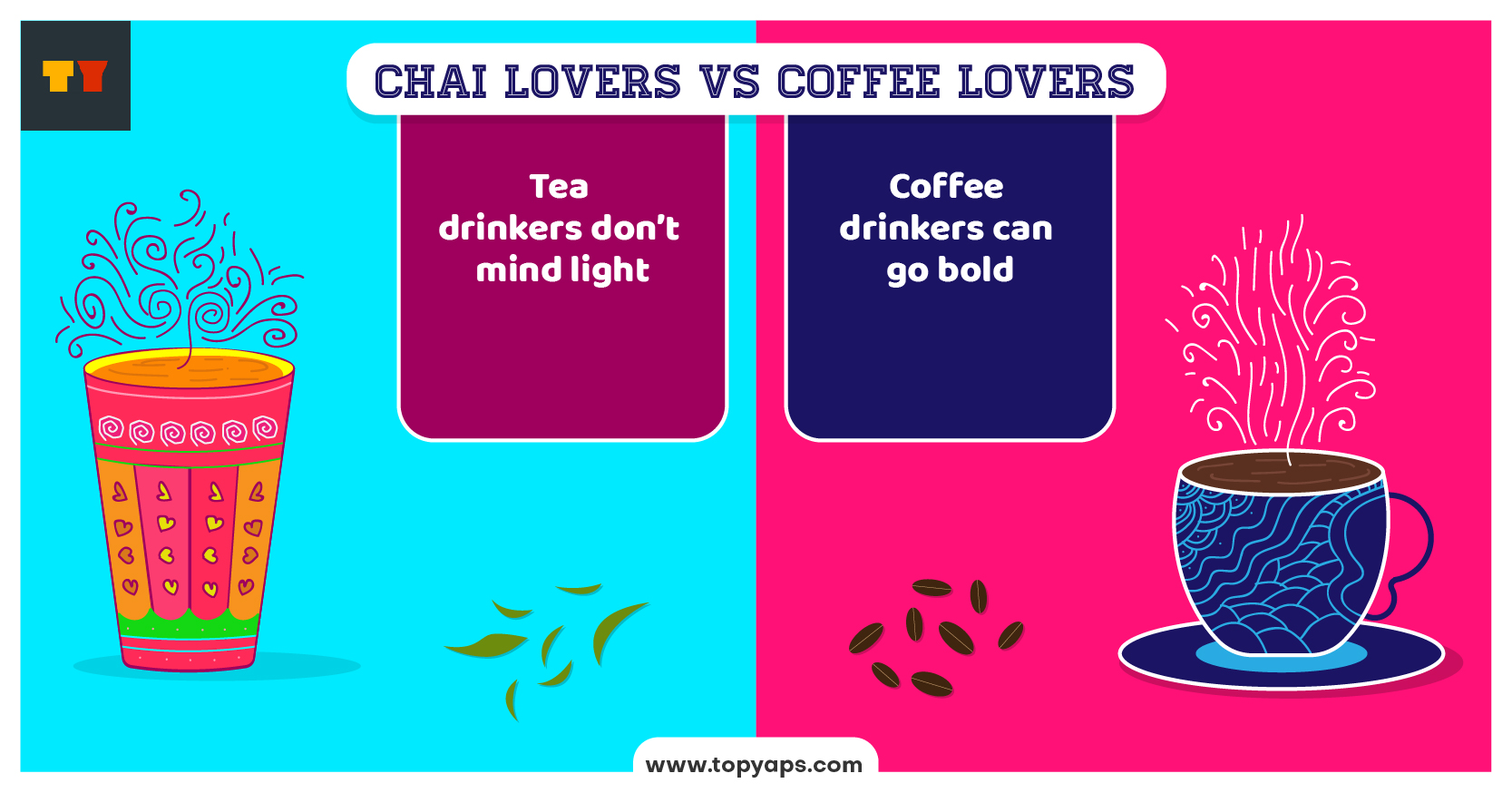Tea Vs Coffee Lovers Pictures That Will Make Your Laugh Out Loud #coffeeLovers