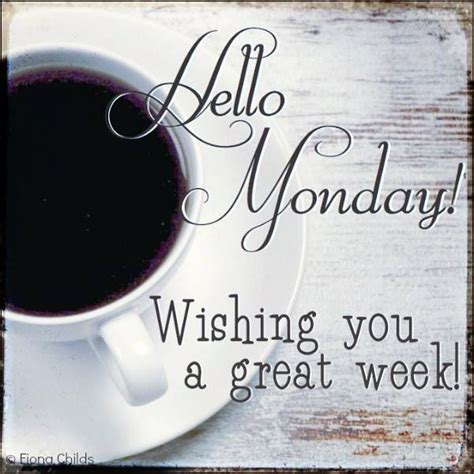 Monday Coffee great week - Girlicity Girlicity #mondayCoffee