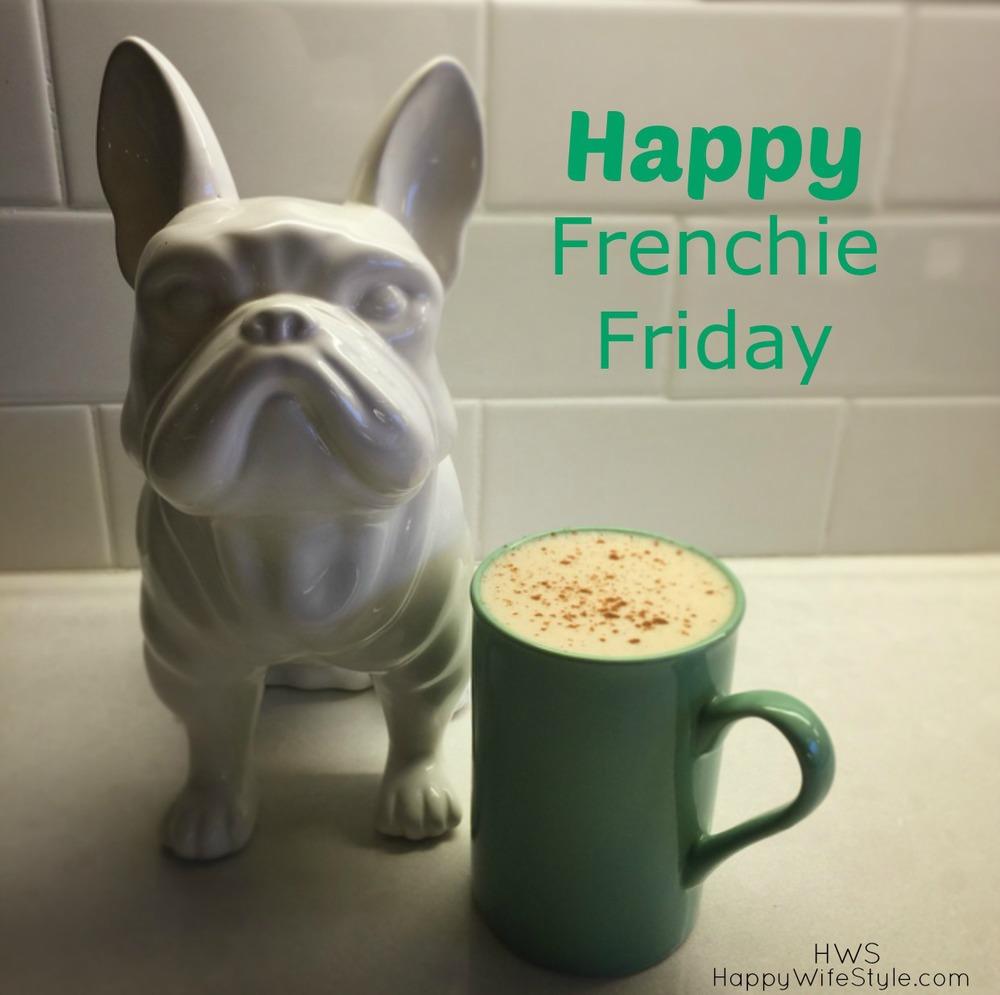 Frenchie Friday - How I make my coffee these days... — Happy ... #coffeeFriday