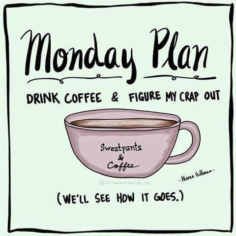 Monday Morning Coffee Break - Good 'N Good For Ya #mondayCoffee